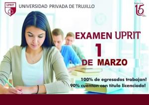 Examen de Admisión 2019-01 @ Trujillo